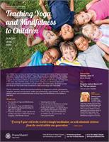 Teaching Yoga & Mindfulness to Children