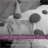 Hot Stone Restorative Yoga Training