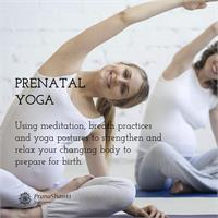 Workshop - Prenatal Yoga - 4 Week Series