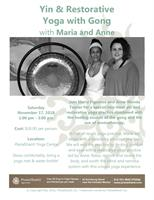 Workshop - Yin & Restorative Yoga with Gong