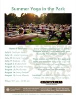 Yoga in the Park - Parkdale Market