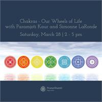 Workshop: Chakras - Our Wheels of Life