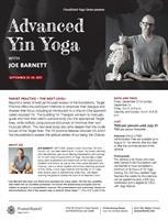 Advanced Yin Seminar