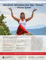 Master Class: Managing Stress & Anxiety through Yoga & Ayurveda