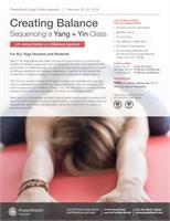Creating Balance Sequencing a Yang + Yin Class