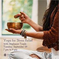 Workshop - Yoga for Stress Relief