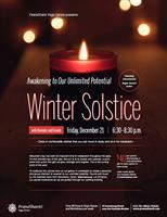 Winter Solstice - Awakening to Our Unlimited Potential