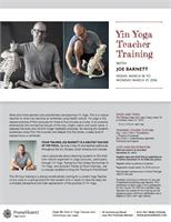 Yin Yoga Intensive
