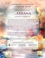 Crystalline Activation to Heal the Waters & Divine Flow Within with Ashana and James Kawainui