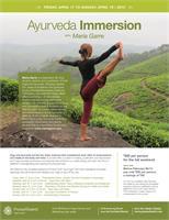 Ayurveda Immersion ~ Yoga for Optimal Health & Vitality