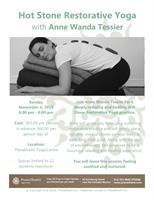 Workshop - Hot Stone Restorative Yoga