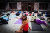 Rooftop Yoga on Cherry St.