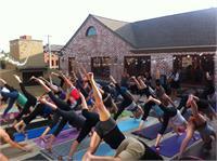Rooftop Yoga w/ D.J Matt Leland